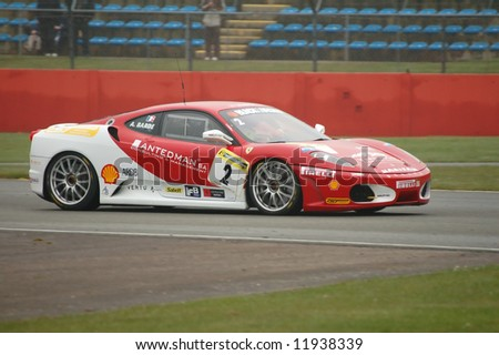 Stock  Auto Racing on Ferrari Gt Championship Racing Car Stock Photo 11938339   Shutterstock