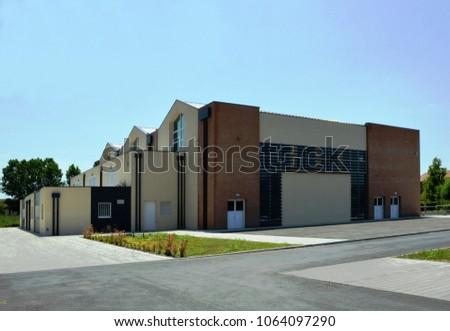 Ferrari gym center in Este, Padua, Italy, Nicola Gennaro architect – jun 22 2018 #1064097290