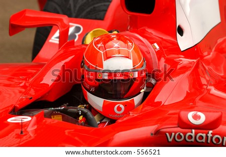 Ferrari Michael Schumacher - stock photo