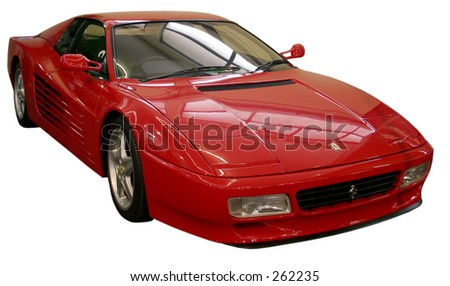 Ferrari on display at the Adelaide Motor Show, 2005