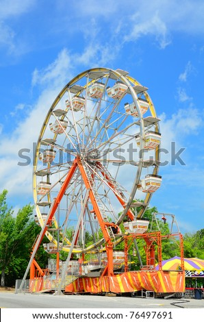 Ferris Wheel Abstract
