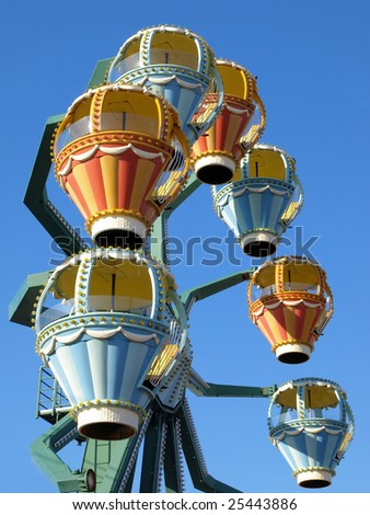 Ferris wheel at a Long Island festival