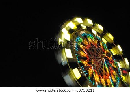 Ferris wheel at county fair