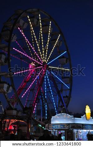 Ferris wheel at Cumberland Fair in Cumberland, Maine