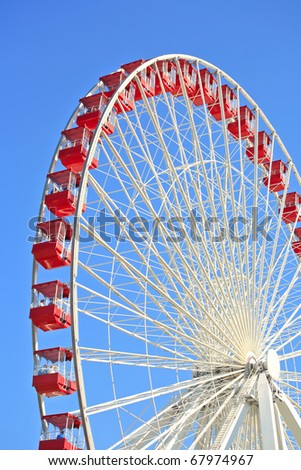 Ferris Wheel at Navy Pier, Chicago