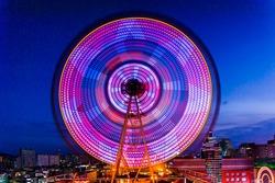 Ferris wheel in Ulsan, South Korea