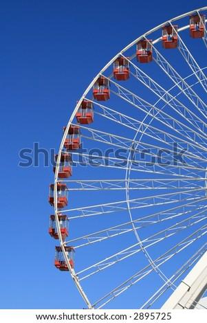 Ferris Wheel, Navy Pier in Chicago