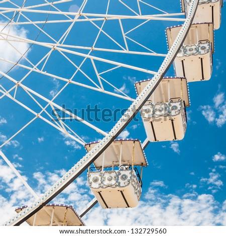 ferris wheel of fair and...