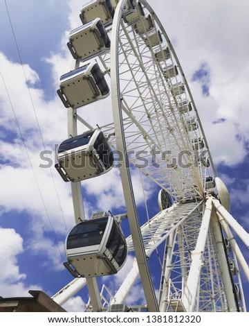 Ferris Wheel or Big Wheel  #1381812320