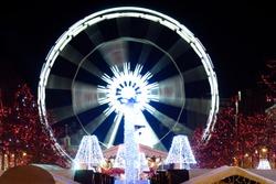 Ferris wheel - Saint Catherine, Brussels, 2011 - Winter Wonders