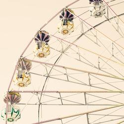Ferris Wheel Vintage Carnival
