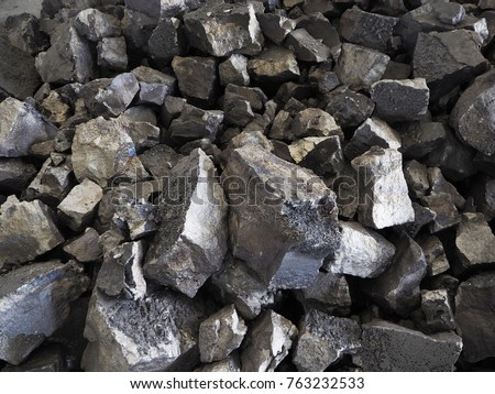ferro manganese alloys Foto stock ©