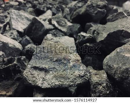 Ferro Silicon Manganese (FeSiMn) is a type of ferroalloy Foto stock ©