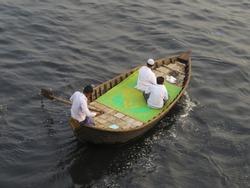 ferry boat, Buriganga river, Dhaka, Bangladesh