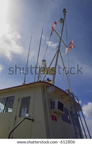 Ferry Boat Flags.