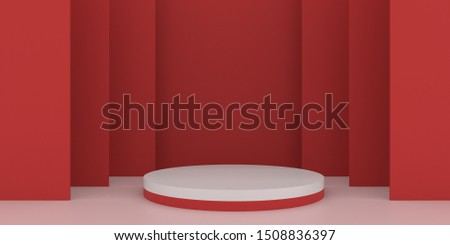 Festival activity design background objects display 3D rendering 3D illustration renderings