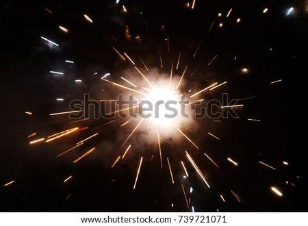 Festival Crackers Sparks