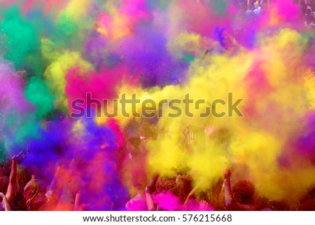 Festival of colors greetings #576215668