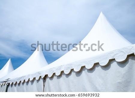 festival tent at a park #659693932