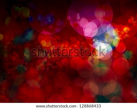 Festive background. Elegant abstract background with bokeh defocused lights
