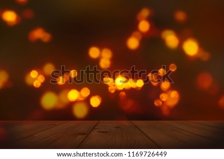 festive background with blurry lights