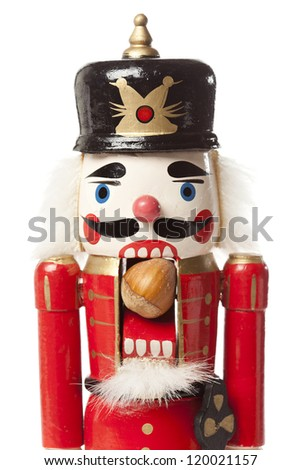 Festive Christmas NutCracker ready for the Holidays