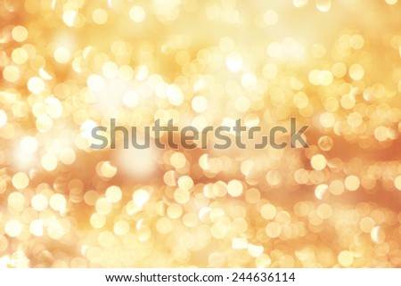 Festive elegant abstract background with bokeh lights and stars