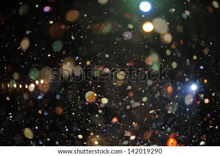 Festive lights .