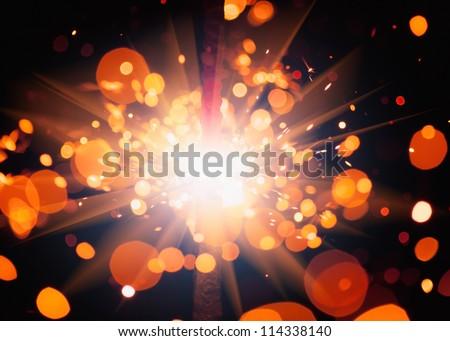 festive sparkler