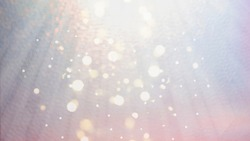 Festive xmas abstract background on pastel colors pink, blue and lilac with bokeh defocused lights. Boke twinkling Lights Festive holiday party background with blurry special magic effect.