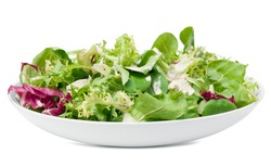 Feta cheese salad and dressing