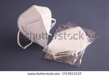 FFP2 Aerosol protective facial mask Stok fotoğraf ©