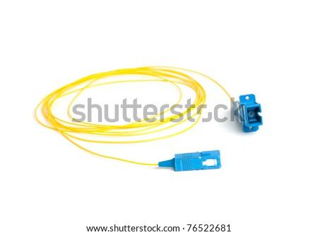 fiber connectors. fiber cable. single mode fiber