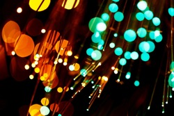 fiber optic abstract background