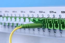 Fiber optic communications equipment, coarse wavelength division multiplexing