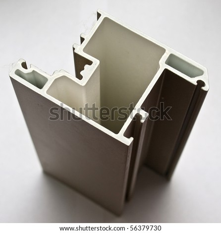 Fiberglass protruded profile for windows and doors manufacturing