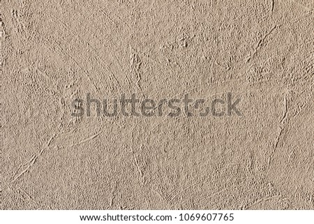 Fiberglass wallpaper interior wall for abstract use. Construction textured background. a great art element. #1069607765