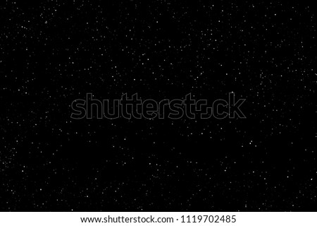 Field of stars in the space night.  Surrounded by the empty dark center. Background  of  Universe, The sky is cloudless at Black backdrop.