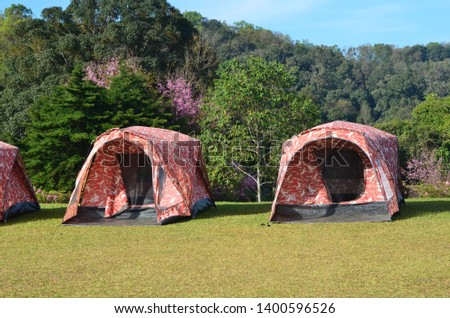Field tent , Tent in the craft #1400596526