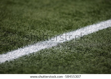 Field turf on a professional soccer field