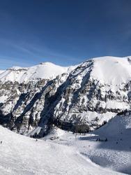 Fierce mountains in Telluride, Colorado