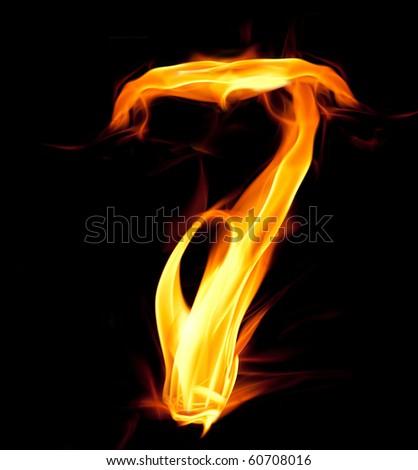 Fiery number seven