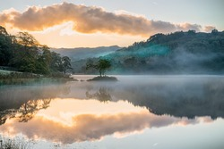 Fiery Reflection at Rydal