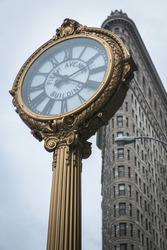 Fifth avenue & Flat Iron building