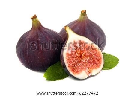 Fig and mint