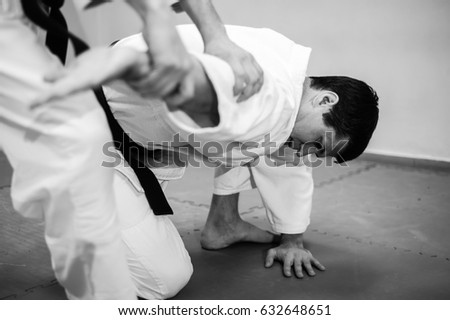 Fight between two aikido fighters #632648651