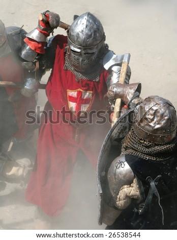 Fight on battlefield