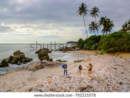 Figure Adventure, Figure Traveler, Figure Backpacker, Toys #782221078