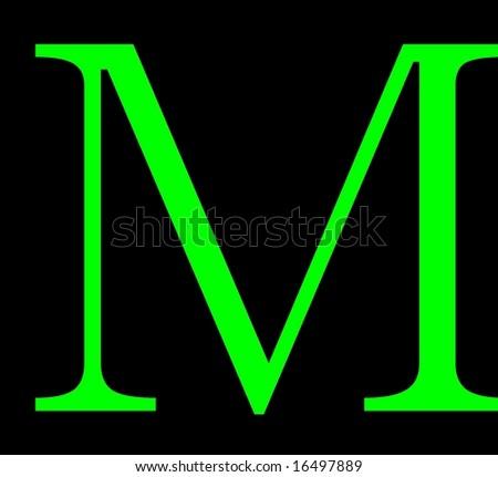 Green Letter m Logo Green Letter m Logos