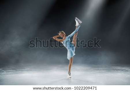 figure skating sport photo #1022209471